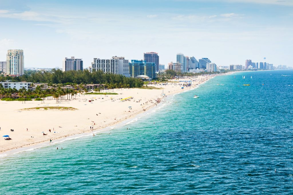 Fort Lauderdale Beach Florida
