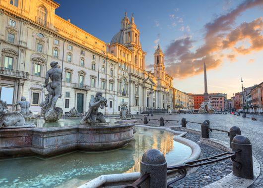 Städtetrip Rom: 3 Tage im zentralen 4*Hotel inkl. Frühstück und Reiseführer für 149€ (mit Flug für 225€)