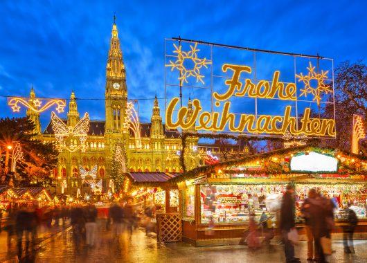 Zum Weihnachtsmarkt nach Wien: Übernachtung im 3* Hotel inkl. Frühstück ab 29,50€ p.P.