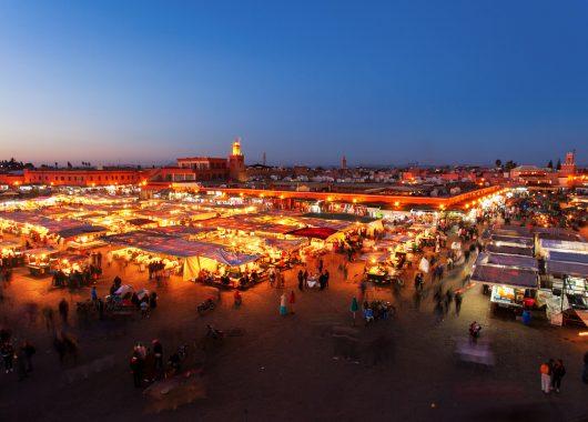 Marrakesch: 4 Tage im 4* Riad & Spa Hotel mit Flügen und Frühstück ab 185€ im Dezember