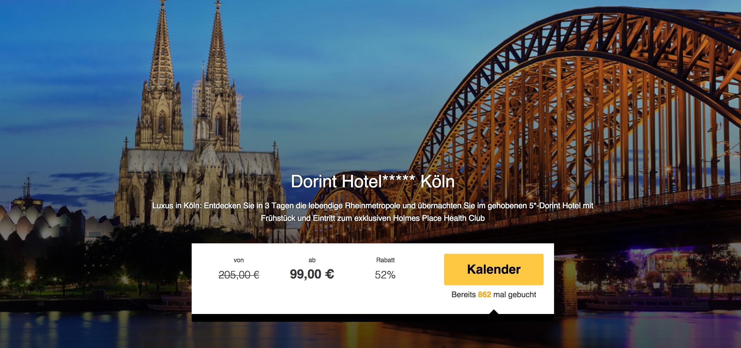 Hotel In Koln Ab  Euro