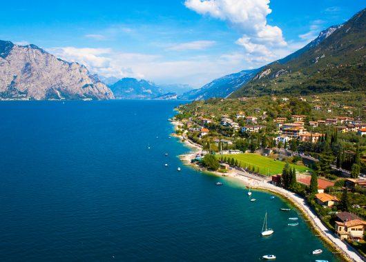 Idyllischer Gardasee: 4 bis 8 Tage im 3*Hotel mit Halbpension & Parkplatz ab 129€