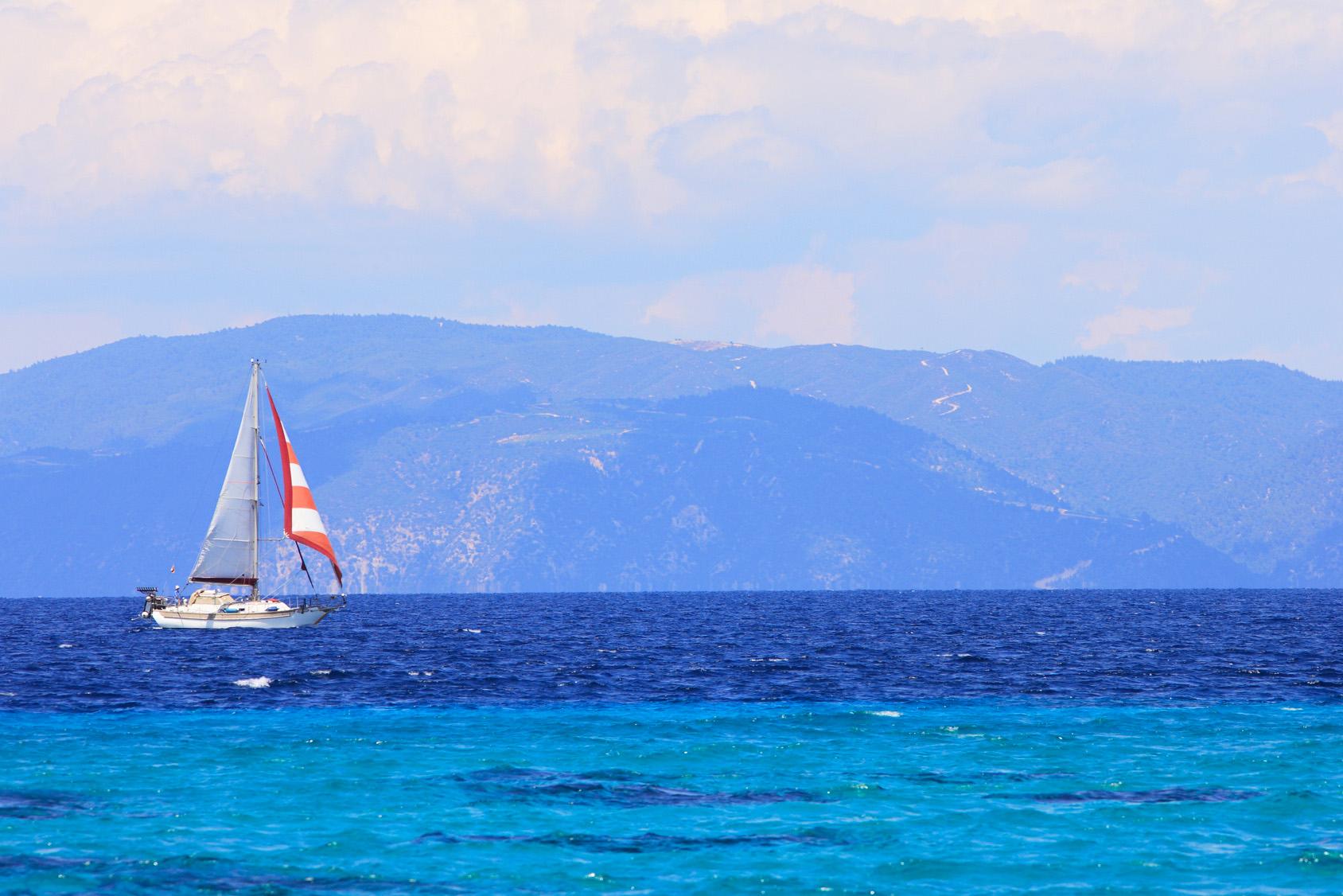 Segelyacht Griechenland Kreta Kos Chalkidiki Rhodos