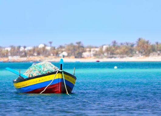 Frühbucher: Eine Woche Djerba im top 4* Hotel inkl. Flug, Transfer und Halbpension ab 387€
