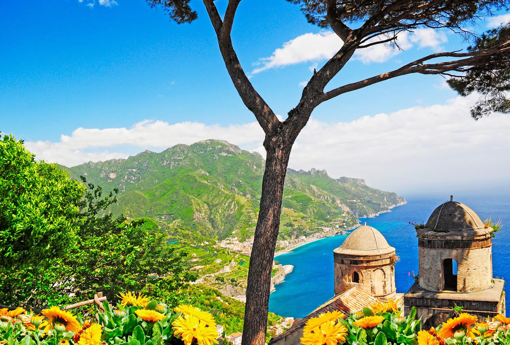 amalfiküste capri ischia golf von neapel