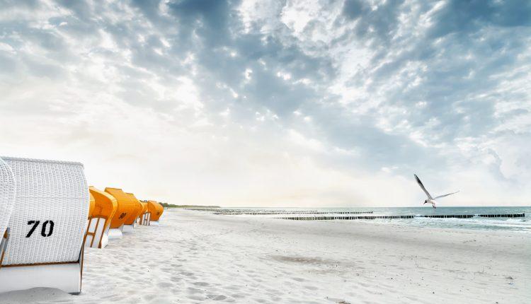 Im Herbst an der Ostsee: Doppelzimmer mit Meerblick im 4* Hotel mit Wellness ab 60€ pro Person