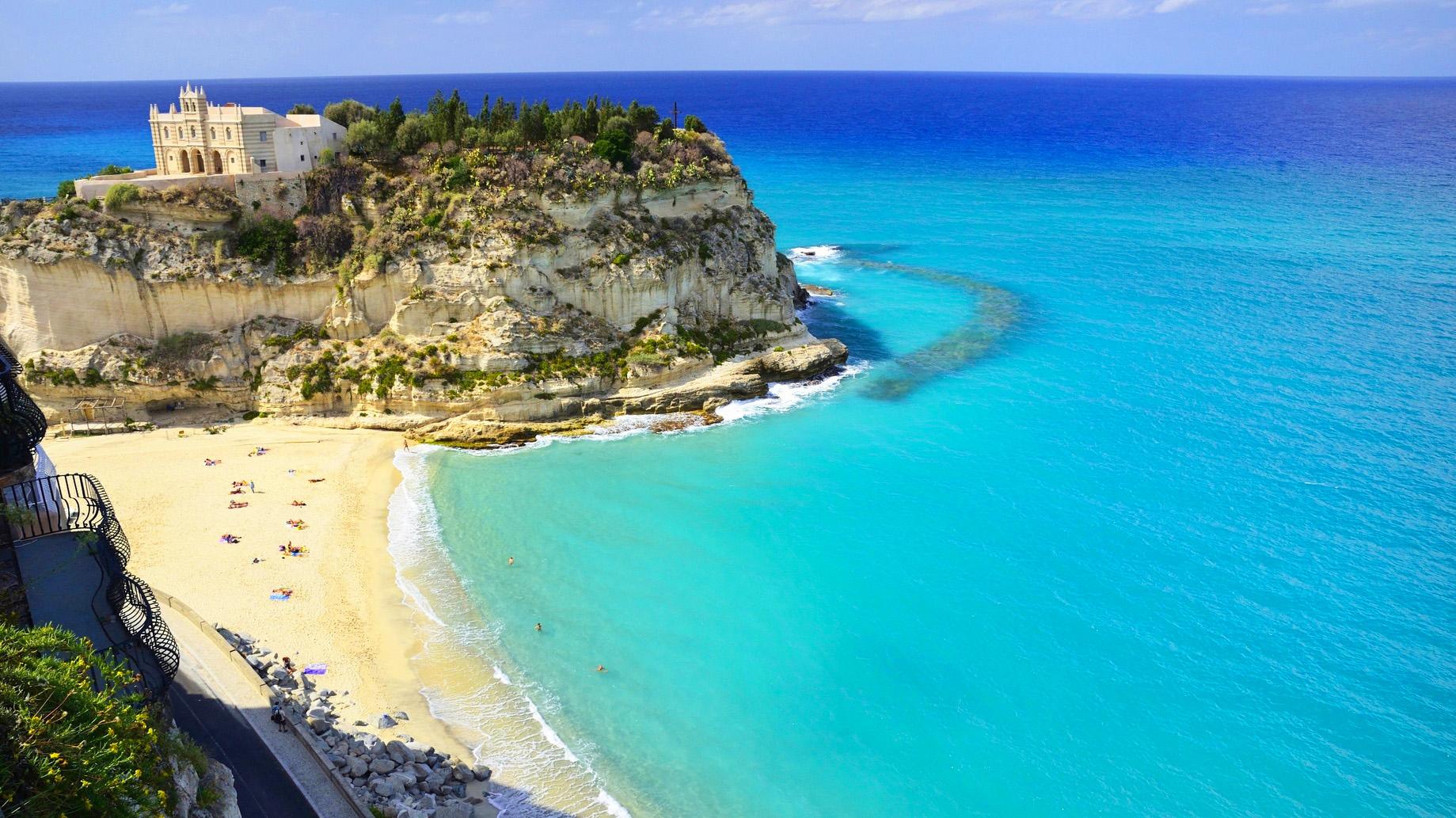 Tropea Kalabrien Italien