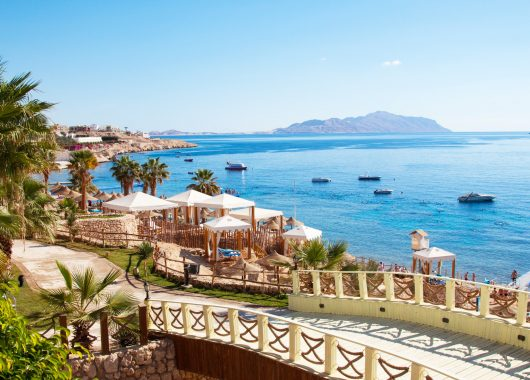 9 Tage Hurghada: 4* Resort, Flug, Transfer, Rail&Fly und All In ab 370€