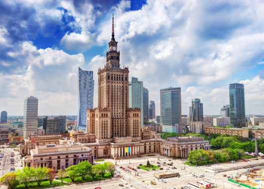 Frühbucher: 3 Tage Warschau im März im 3*Hotel inkl. Flug ab 116€