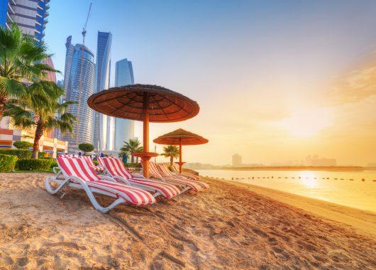 Luxus pur in Ras Al Khaimah: 1 Woche im 5* Hotel inkl. Frühstück, Flug, Rail&Fly u. Transfer ab 462€