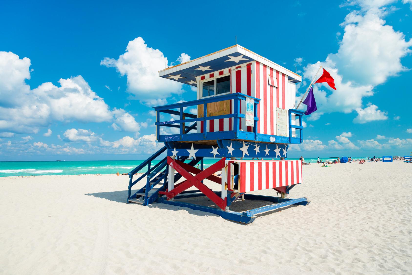 South Beach, Miami Florida