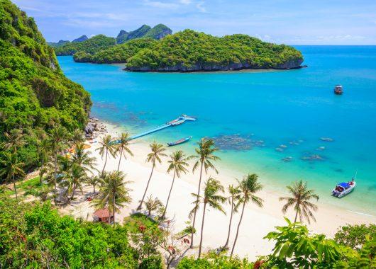 9-tägige Traumreise nach Koh Samui ins 3*Hotel mit Flügen, Frühstück und Transfers ab 893€