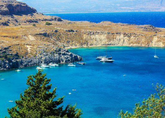 Rhodos: 6 Tage im 4*Hotel mit Halbpension, Transfers, Rail & Fly und Flügen ab 438€