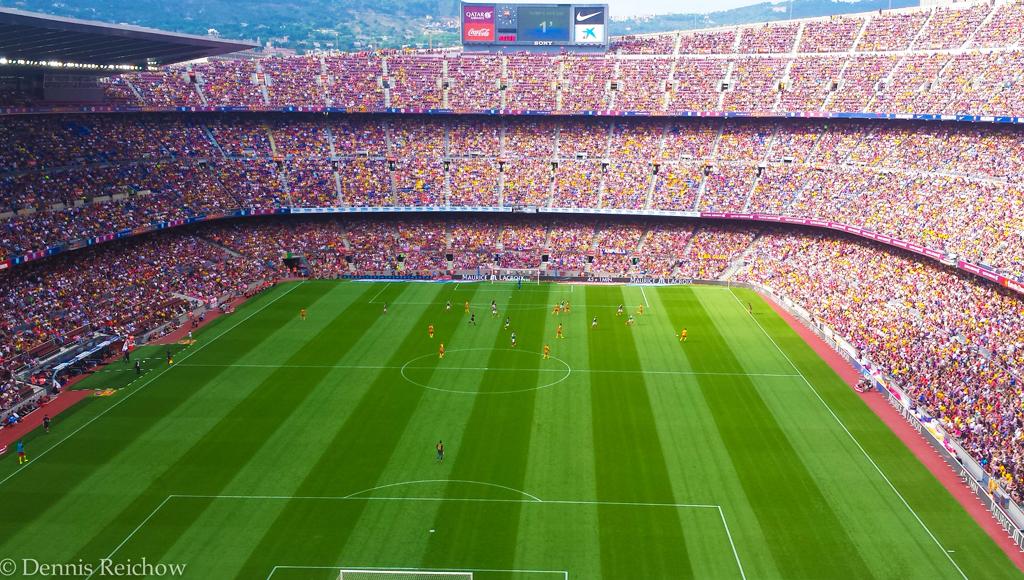 Barcelona Camp Nou Sommer