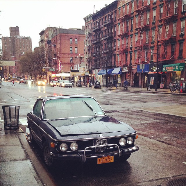 BMW im East Village