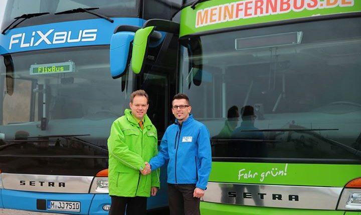 Flixbus und MeinFernbus fusionieren – 111.000 Schnäppchentickets ab 11€