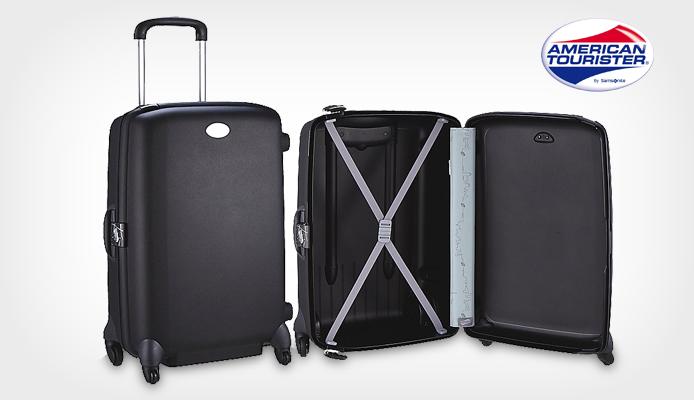 American Tourister by Samsonite 74cm Trolley mit 4-Rollen für 62,96€ statt 77,59€ bei koffer-direkt.de