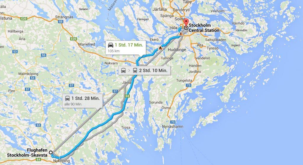 Reisebericht Stockholm Maps