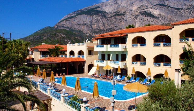 Samos: 7 Tage im sehr guten 3* Hotel inkl. Flügen, Transfers und Frühstück ab 282€