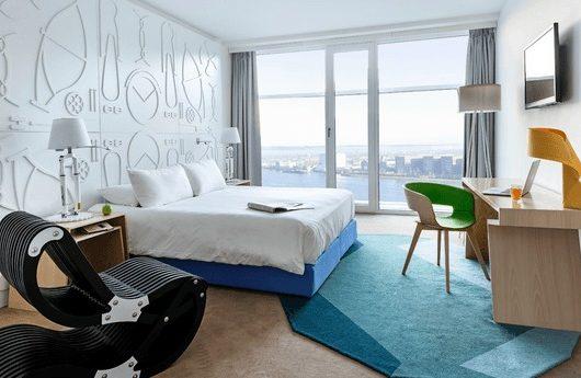 3 Tage Amsterdam im zentralen 4* Design Hotel inkl. Frühstück ab 181€