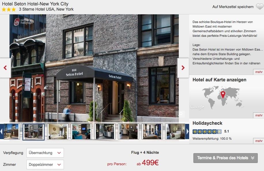 januar februar 5 tage new york im zentralen 3 hotel flug ab 499. Black Bedroom Furniture Sets. Home Design Ideas