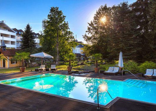 3 Tage Wellness im Allgäu: 4,5* Parkhotel inklusive Halbpension für 219€