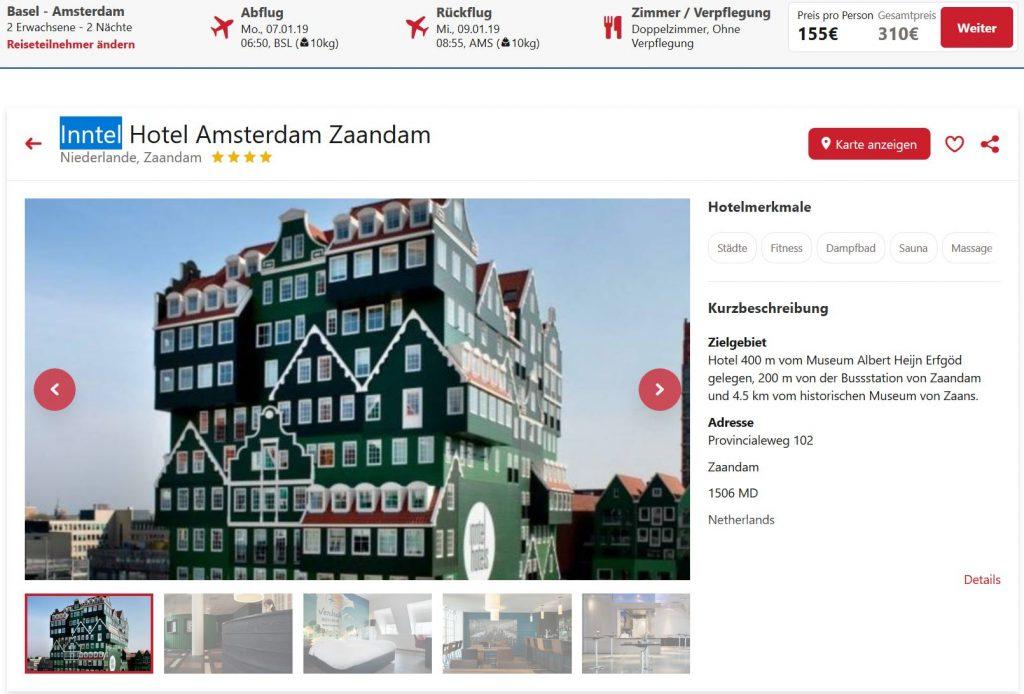 Amsterdam 3 Tage Im 4 Hotel Inkl Flug Ab 155 Euro Pro Person