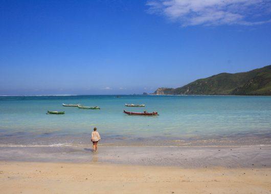 Kuta-Lombok: Tolle Strände und wenig Tourismus