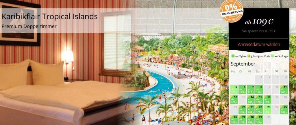 2 tage tropical islands mit bernachtung direkt in den tropen inkl fr hst ck ab 109 p p. Black Bedroom Furniture Sets. Home Design Ideas