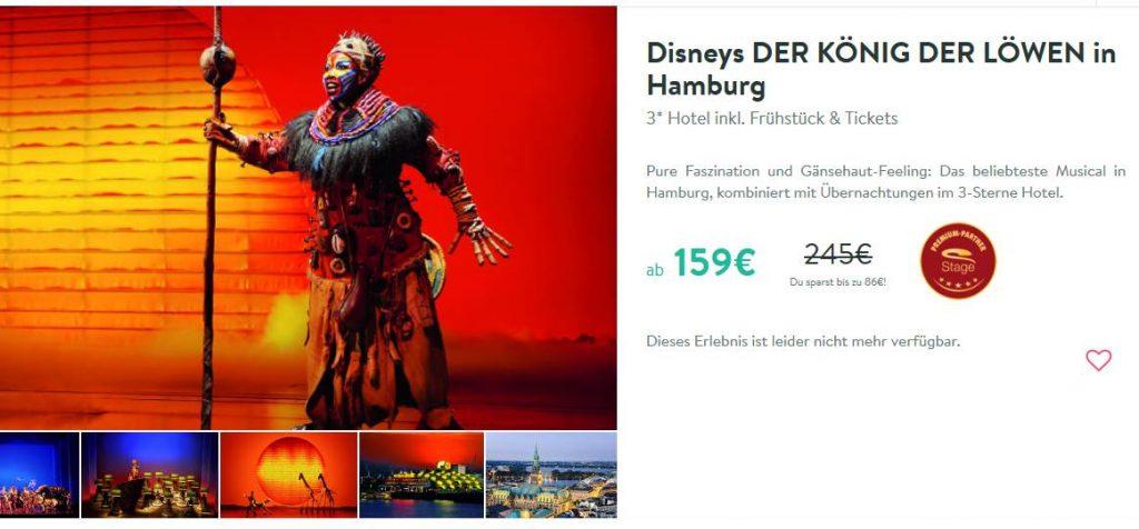 König der Löwen in Hamburg