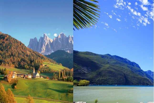 Südtirol & Gardasee – Kombireise inkl. Halbpension in 3*Hotels für 7 Tage ab 199€