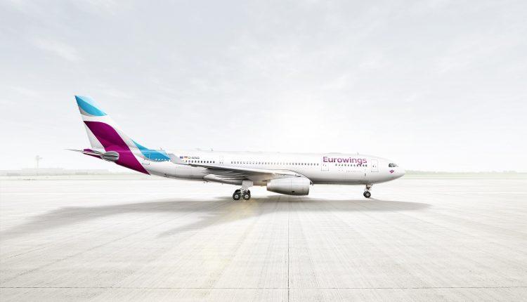 Eurowings Aktion: Günstige Flüge innerhalb Europas ab 16,99 €