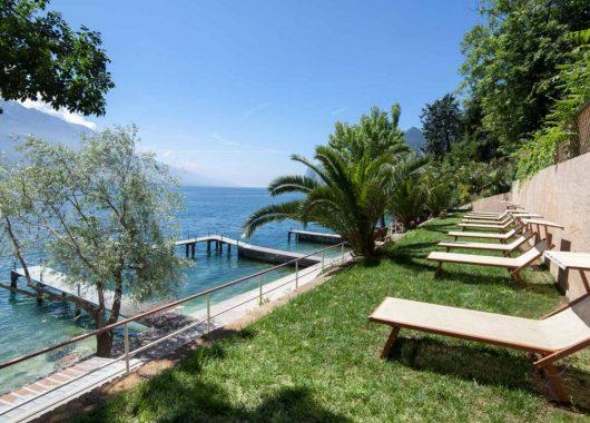 4, 5 oder 8 Tage am Gardasee: 4* Hotel direkt am See inklusive Halbpension ab 249€
