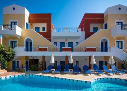 Kreta: 1 Woche im guten 3.5* Apartment inkl. Flug und Transfer ab 288€