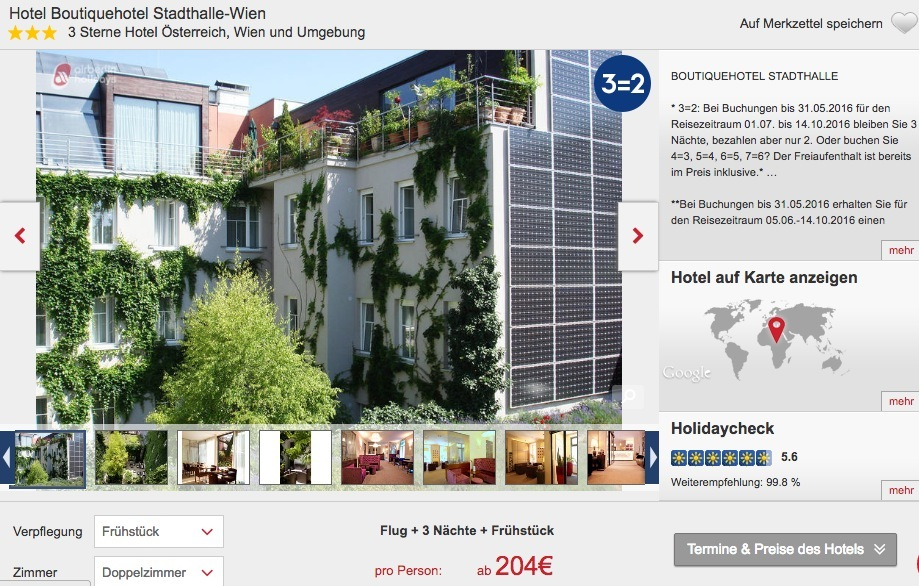Berlin Drei Tage Flug Und Hotel