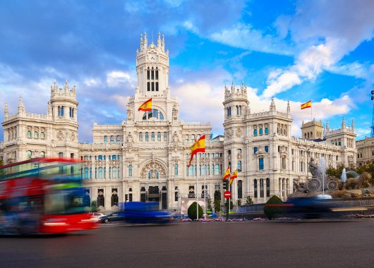 Himmelfahrt in Madrid: 4 Tage im 3* Hotel ab 86€ pro Person