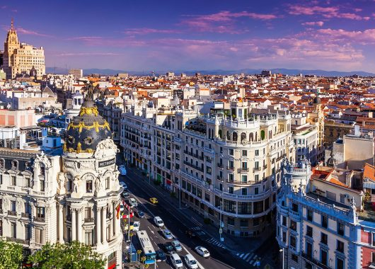 Wochenende in Madrid: 3 Tage im 3* Hotel ab 68€ pro Person
