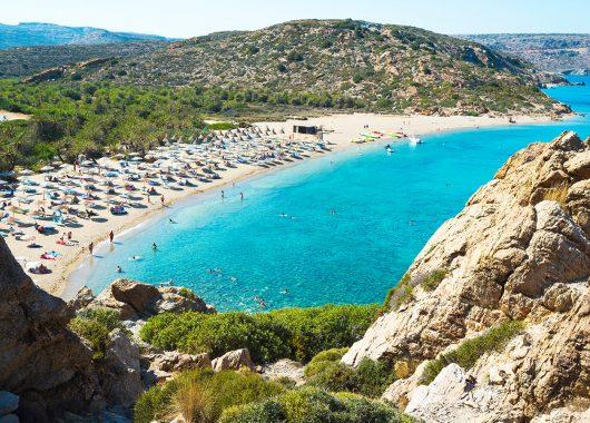 Frühbucher: Eine Woche Kreta im 3* Hotel mit All In, Flug, Rail&Fly und Transfer ab 249€