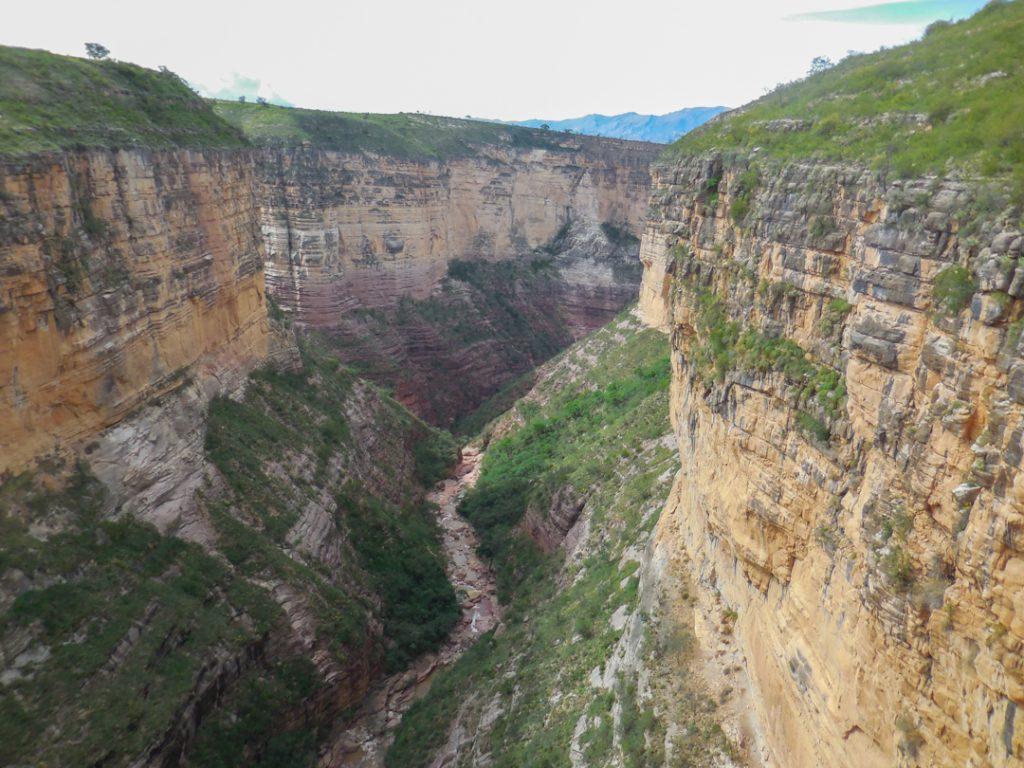 Canyon von Toro Toro