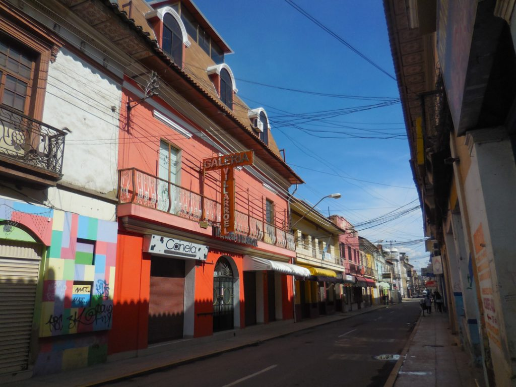 Cochabambas Einkaufsstraße