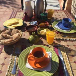 Frühstück Riad Sophia
