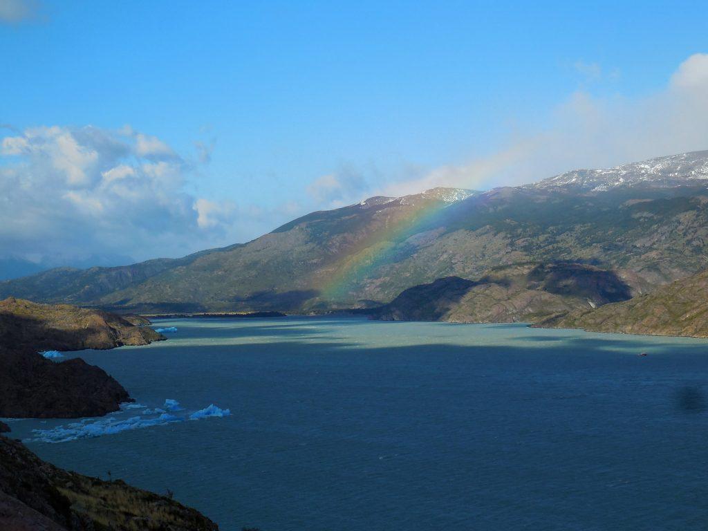 Ausblick am ersten Tag der W-Wanderung durch den Nationalpark Torres del Paine