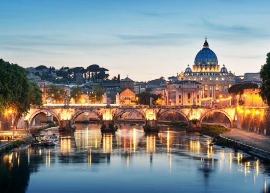 Rom: 3 Tage im 4*Hotel inkl. Flug und Zug zum Flug ab 177€