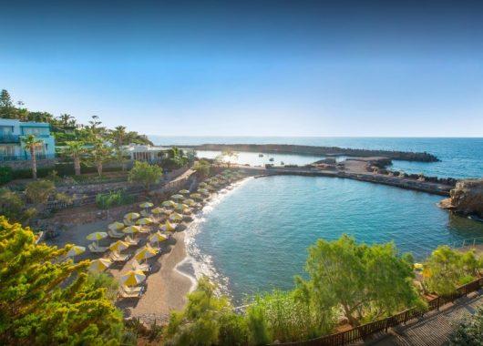 1 Woche Kreta im 4,5* Hotel inkl. HP, Flug, Rail&Fly und Transfer ab 399€