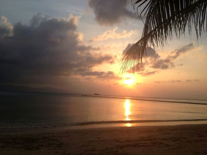 Sonnenuntergang Kho Phangan