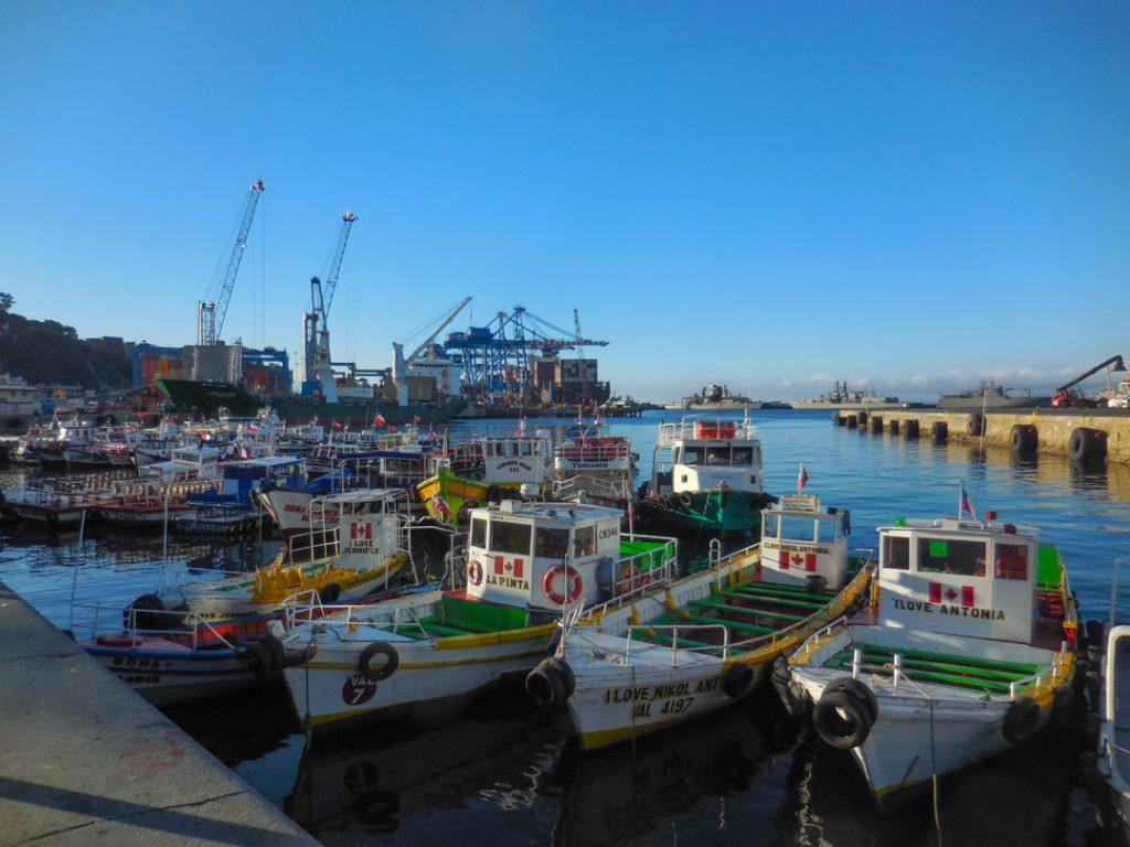 Eine Anlegestelle am früher einmal bedeutsamsten Hafen Südamerikas