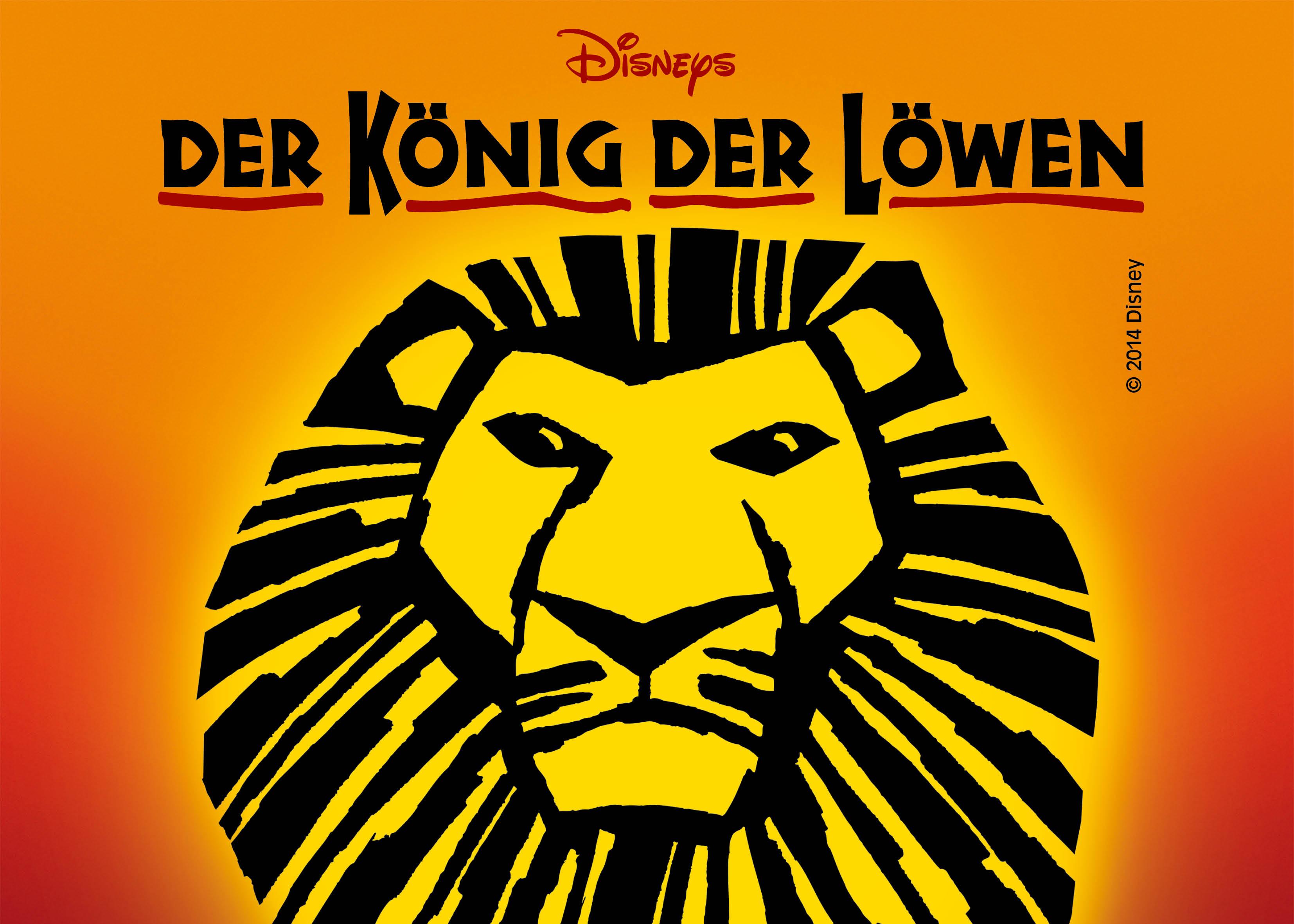 könig der löwen musical gutschein vorlage