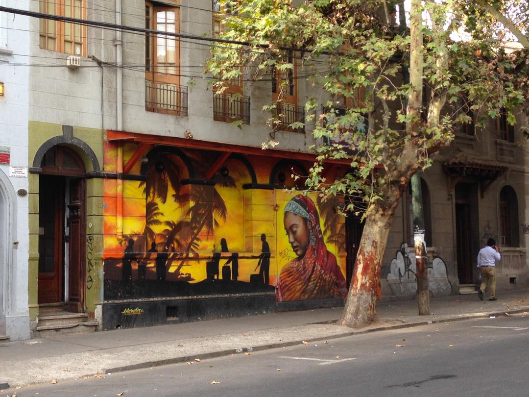 Straßenkunst im Bellavista