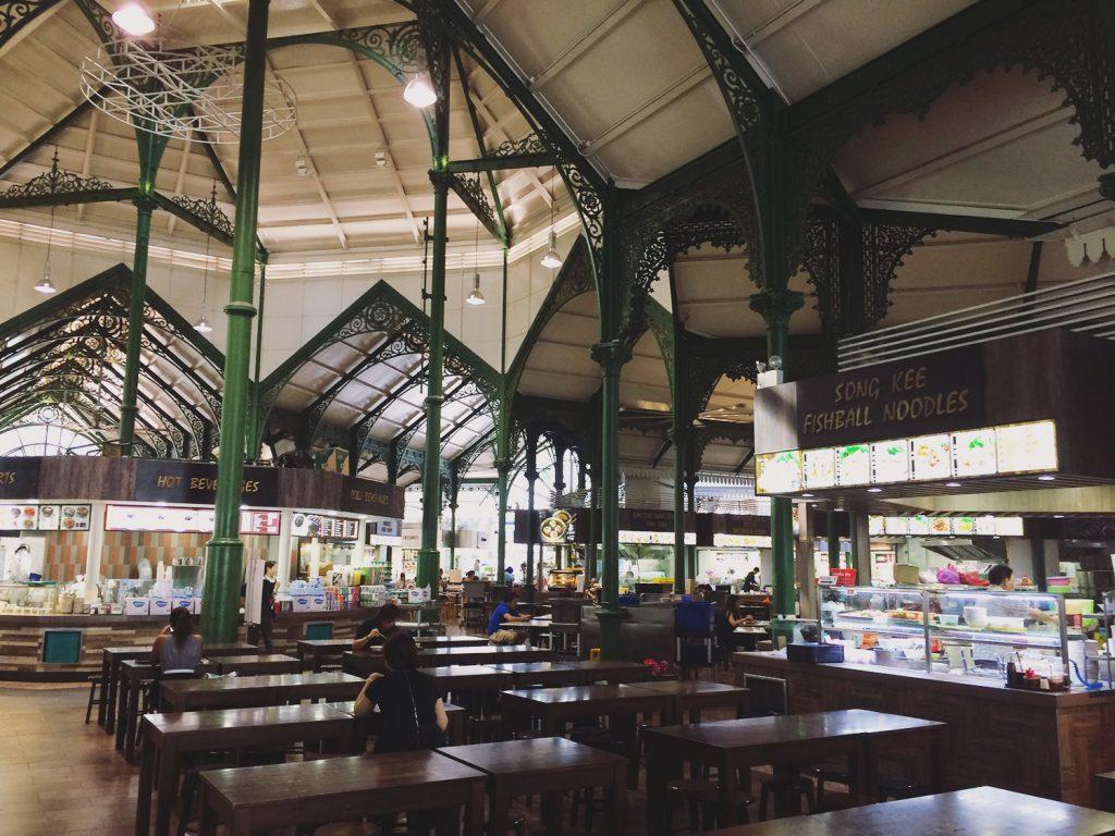 Lau Pa Sat: Ältester Foodcourt Singapurs