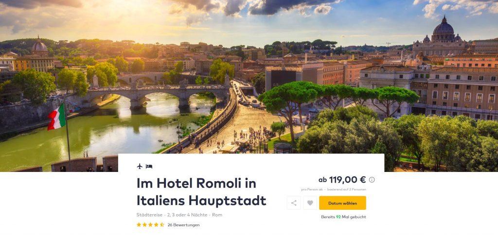 Rom Flug U Hotel